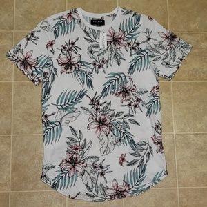 Pac Sun Los Angeles | Aloha Print T-Shirt | Size L